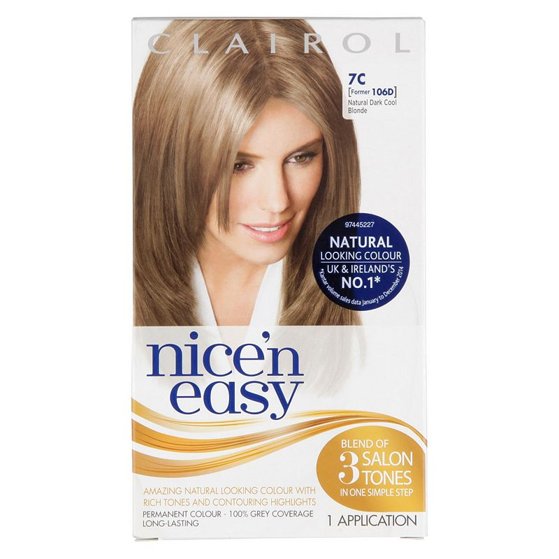 Nicen Easy Permanent Hair Colour 10 Natural Compare Bluewater