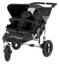 Out 'n' About Nipper 360 Double V2 Pushchair - Black Picture