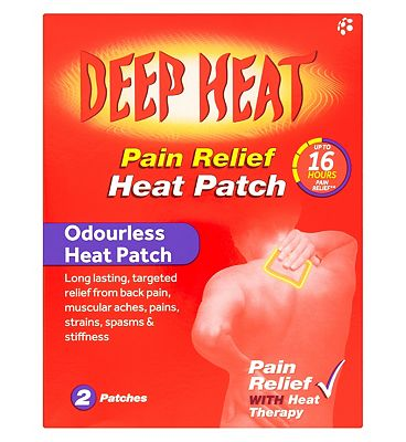 Deep Heat patch twin pack