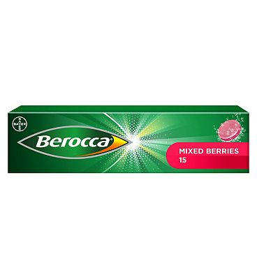 Berocca Mixed Berries  - 15 effervescent tablets