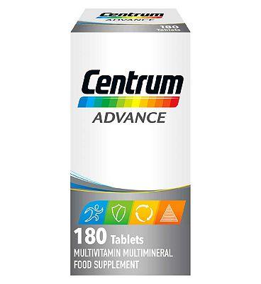 Centrum Advanced  - 180 Tablets