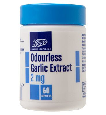 Boots Odourless Garlic Extract 2mg - 60 Capsules