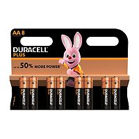 Duracell Power Plus AA batteries 8 pack