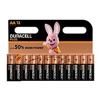 Duracell Power Plus AA batteries 12 pack