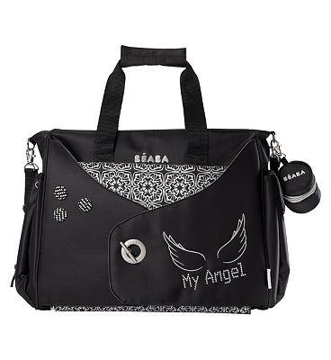 Beaba Baby Los Angeles My Angel Baby Changing Bag - Black.