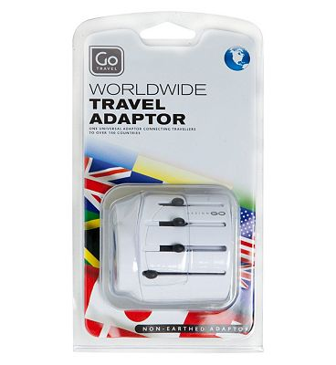 Go Travel Worldwide Travel Adaptor
