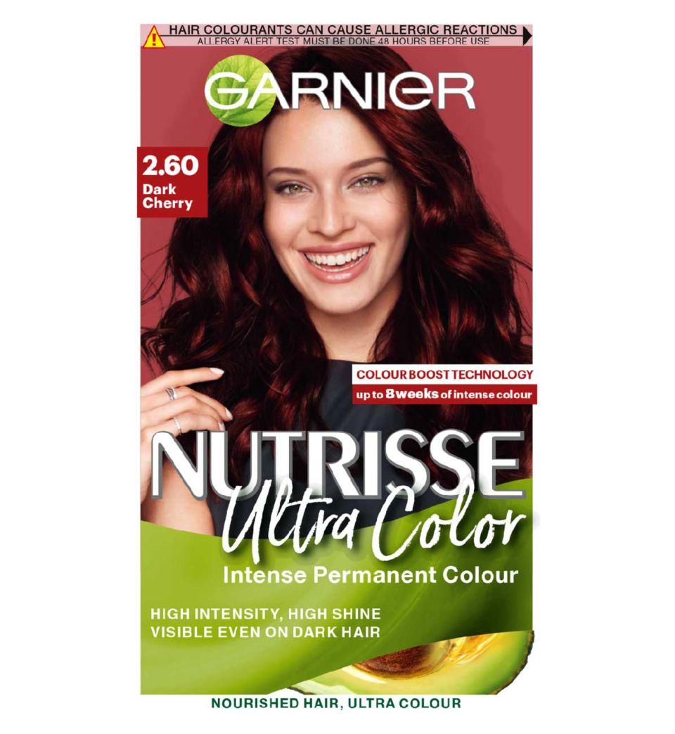Garnier Nutrisse Ultra Color Nourishing Permanent Hair