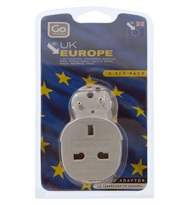 Go Travel Adaptor UK-Europe