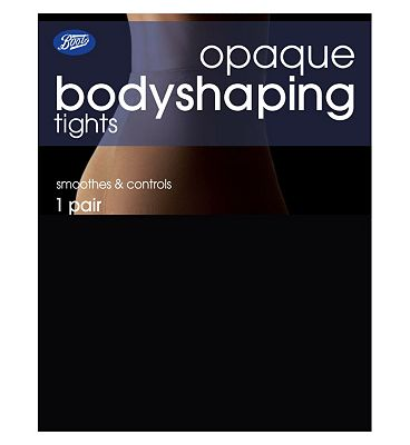 Boots Opaque Bodyshaping Tights Black