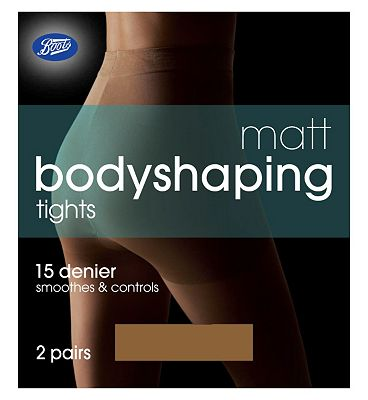 Boots Matt Bodyshaping Tights Natural Ta