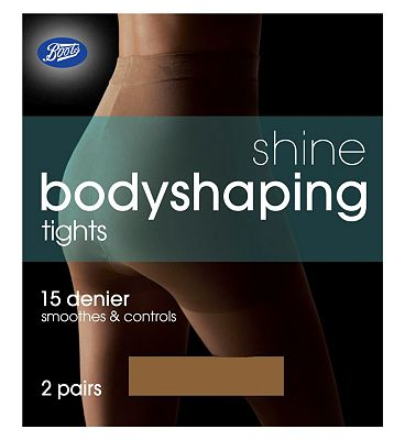 Boots Shine Bodyshaping Tights Nat Tan