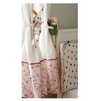 Baby Joule Farm Cosy Curtains and Helpful Huggers