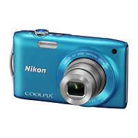 NIKON COOLPIX S3300 Compact Digital Camera  - Blue