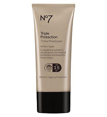 No7 Triple Protection Tinted Moisturiser Fair Fair