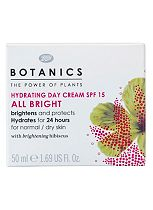 Botanics All Bright Hydrating Day Cream SPF15 50ml