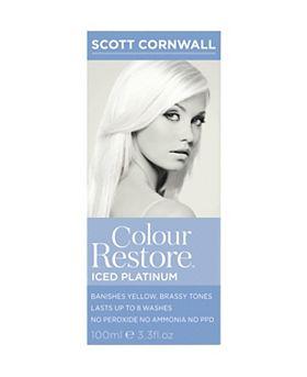 Colour Restore Iced Platinum Hair Toner 100ml