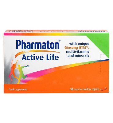 Pharmaton Active Life - 30 Caplets