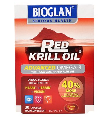 Bioglan Red Krill Oil Advanced - 30 capsules