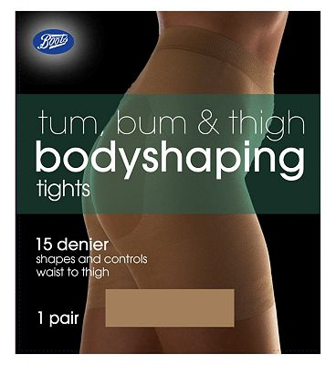 Boots Tum, Bum & Thigh Shaping Tights Nu