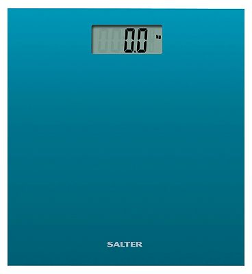 Salter Teale Coloured Glass Electronic Scale 9069 TL3R