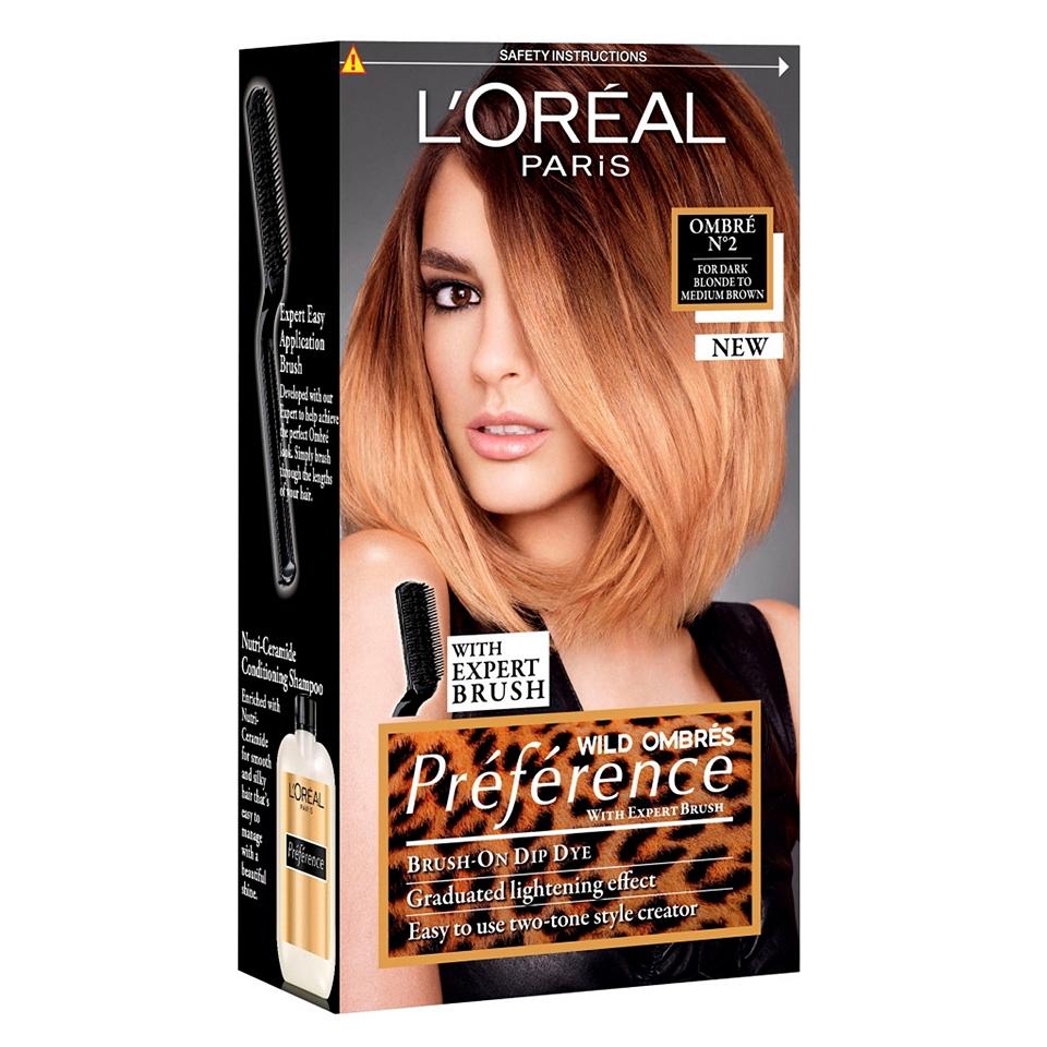 Color Ombre Dip Dye Hair