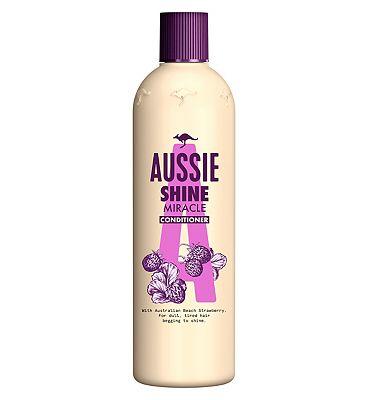 Aussie Miracle Shine Conditioner 400ml