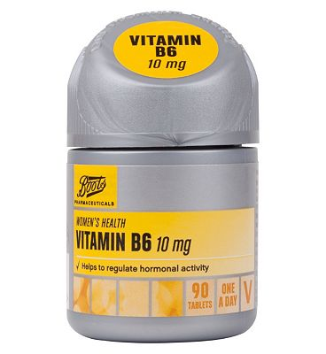 Boots VITAMIN B6 10 mg 90 tablets