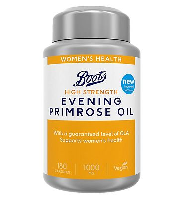 Boots Evening Primrose Oil 1000 mg 6 Months Supply