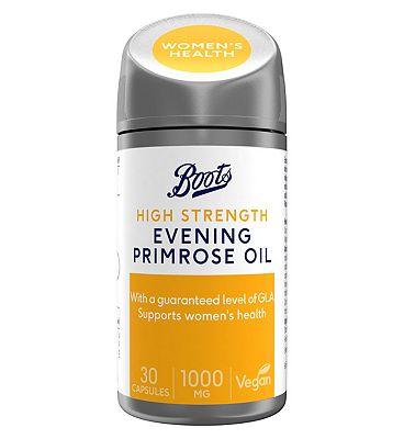 Boots EVENING PRIMROSE OIL 1000 mg 30 capsules