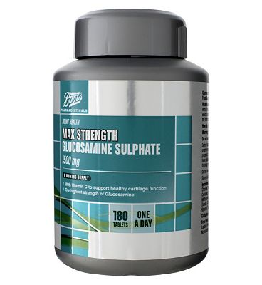 Boots Max Strength Glucosamine Sulphate 1500mg 180