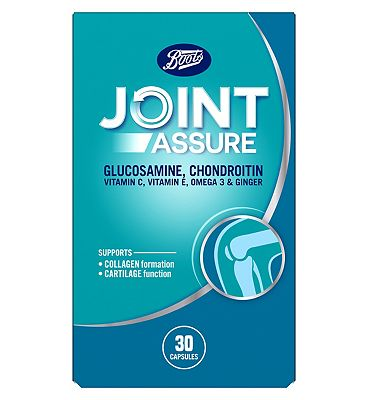 Boots  JOINTASSURE Glucosamine, Chondroitin, Ginger Contains Added Vitamin C 30 Caps
