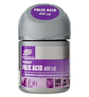 Boots  FOLIC ACID 400 g 180 Tablets
