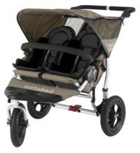 Out 'n' About Nipper 360 Double V2 Pushchair - Camel Picture