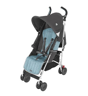 Maclaren Quest Pushchair - Charcoal & Citadel