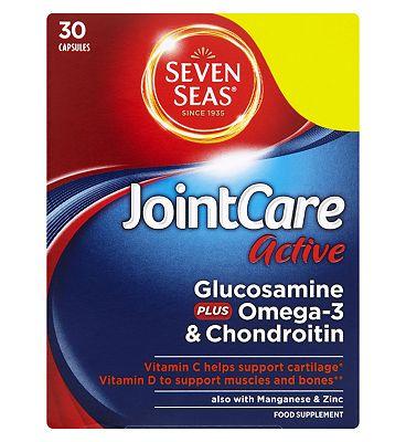 Seven Seas JointCare Active Glucosamine Plus Omega-3 & Chondroitin 30 Capsules