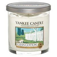 yankee candle regular tumbler candle clean cotton boots. Black Bedroom Furniture Sets. Home Design Ideas