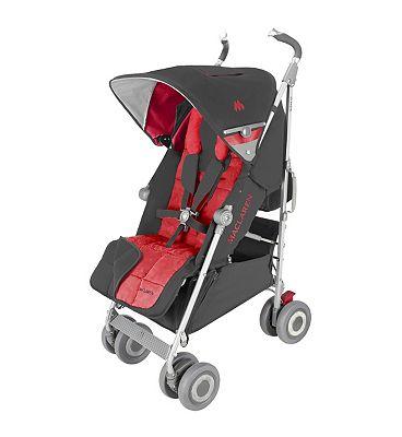 Maclaren Techno XLR Pushchair - Charcoal/Cardinal