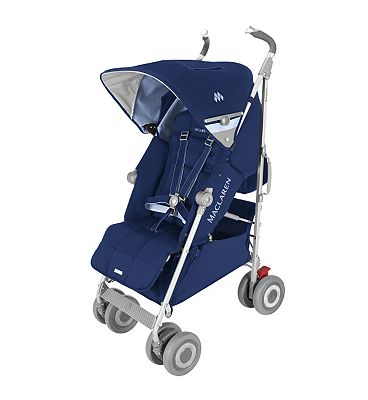 Maclaren Techno XLR Pushchair  Medieval BlueSoft Blue