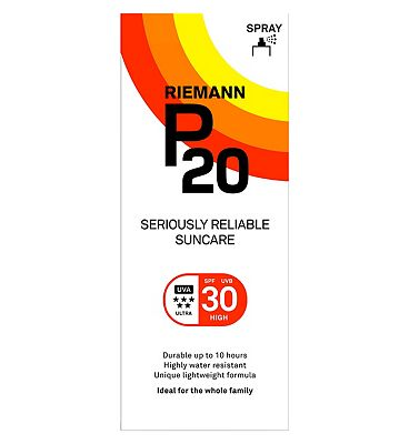 Riemann P20 Once a Day Sun Protection Spray SPF 30 High 200ml