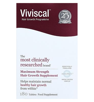 Viviscal Women's Max strength supplements 180's - 3months supply