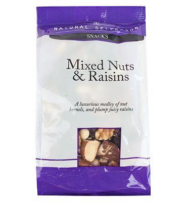Mixed Nuts & Raisins 200g