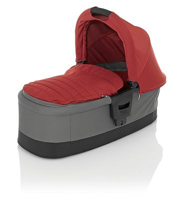 Britax Affinity Carry Cot - Chili Pepper