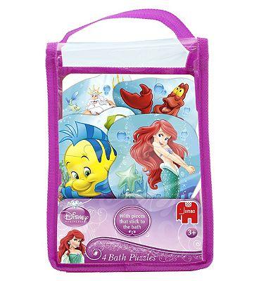 Disney Little Mermaid Ariels Bath Puzzle