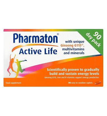 Pharmaton Active Life - 90 Caplets