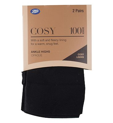 Boots Cosy Complete Comfort ankle highs