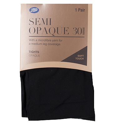 Boots 30 Denier Opaque Tights