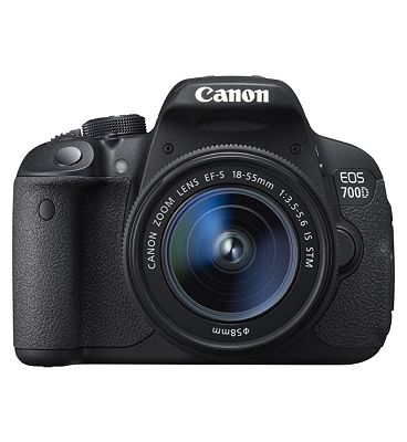 Canon EOS 700D Digital SLR Camera with EF S 18 55mm f/3.5..