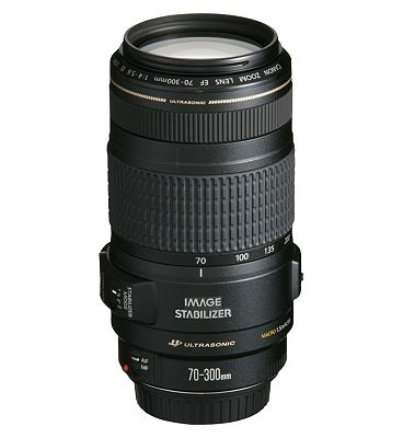 Canon EF (70 300mm f/4.0 5.6 IS) USM Telephoto Zoom Lens