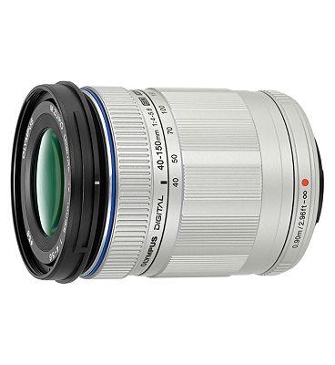 Olympus (40-150mm f4.0-5.6 ED) M.ZUIKO Zoom Lens -  Silver
