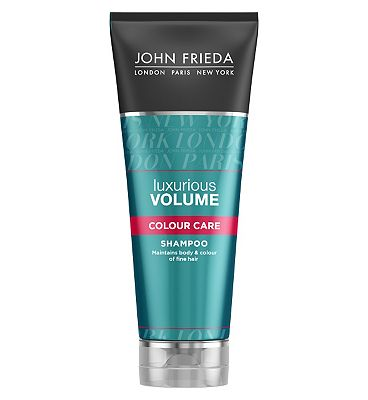 John Frieda Luxurious Volume Touchably Full for ColourTreated Hair Shampoo 250ml